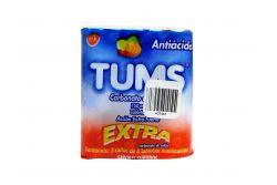 Tums Extra 750 mg Empaque Con 3 Rollos De 8 Tabletas Masticables