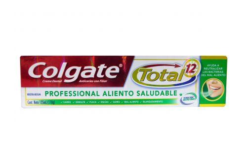 Crema Dental Colgate Total 12 Professional Caja Con Tubo 125 mL
