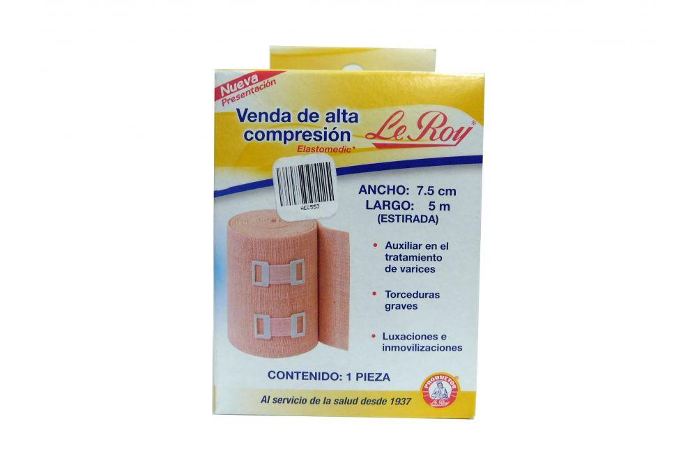 Le Roy Venda De Alta Compresión 7.5cmx5m Caja Con 1