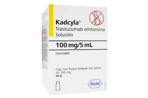 Kadcyla 100 mg Caja con Frasco Ampolleta De 5 mL RX3
