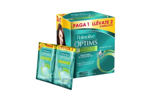 Shampoo Palmol 2 1Sach 2X1 10 ml. 24P