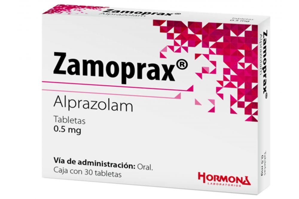 Zamoprax 0.25 mg Caja Con Blister Con 30 Tabletas RX1