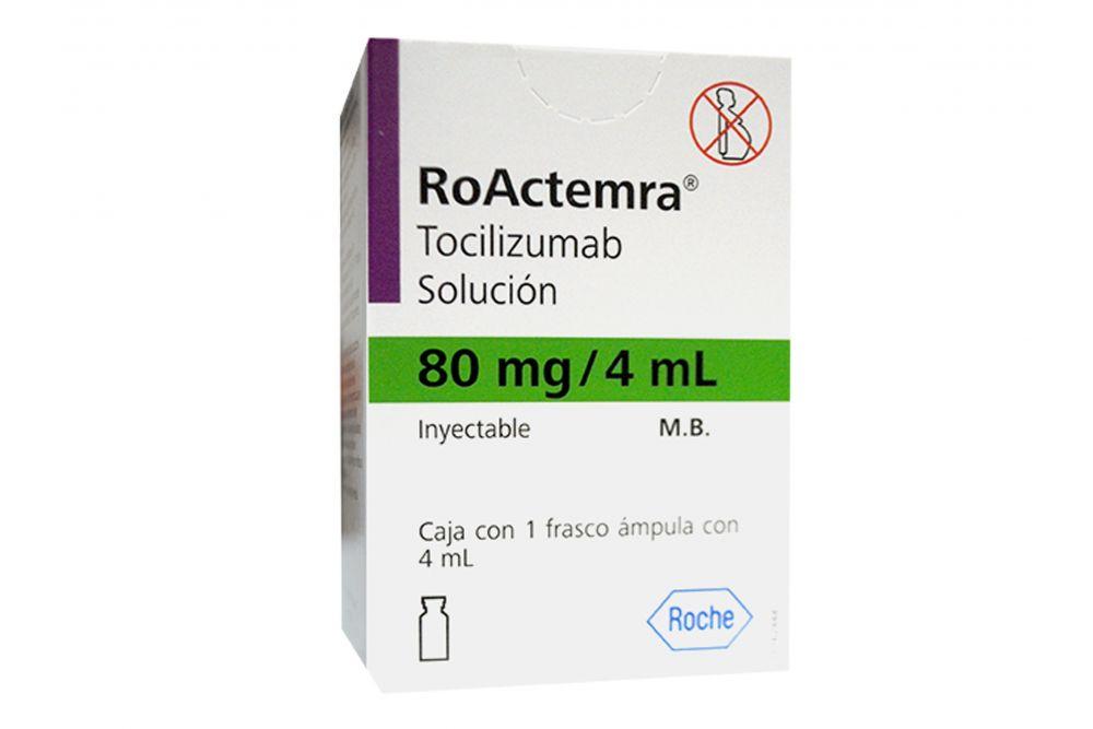 ROACTEMRA 80MG SOL INY 1X4ML RX3