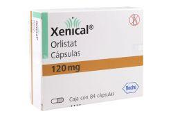 Xenical 120 mg Caja Con 84 Cápsulas
