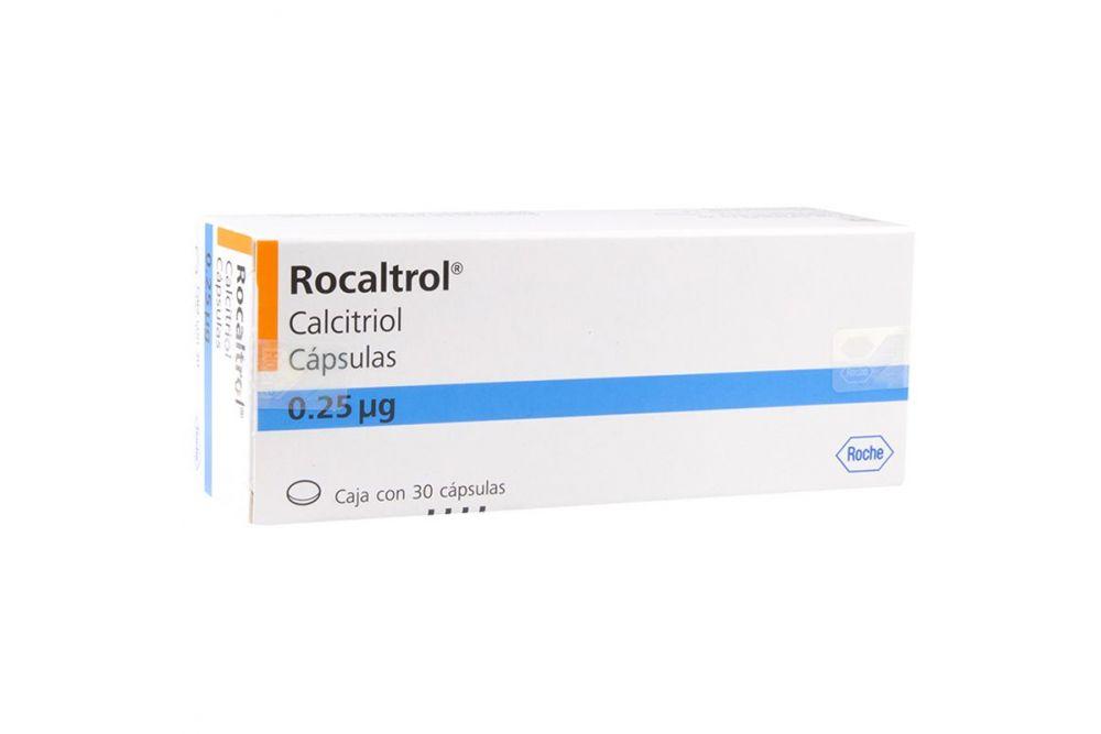 Rocaltrol 0.25 mcg Caja Con 30 Cápsulas