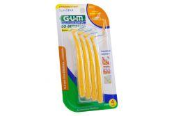 Cepillo Gum Limpiadores Angulados Empaque Con 4 Piezas