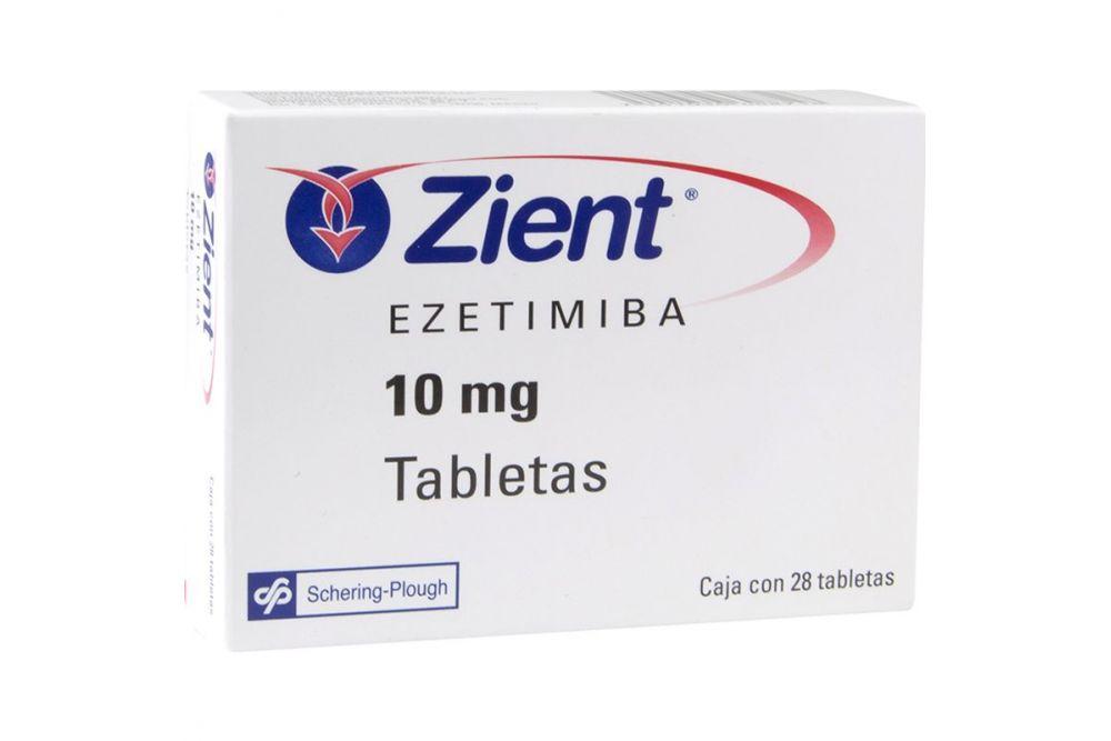 Zient 10 mg Caja Con 28 Tabletas