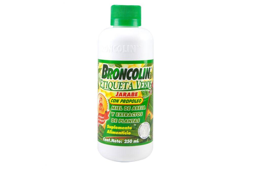 Broncolin Con Propoleo Frasco Con 250mL