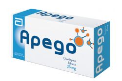 Apego 25 mg Con 30 Tabletas