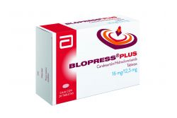 FRM-Blopress Pluss 16 mg/ 12.5 mg Caja Con 28 Tabletas