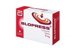 FRM-Blopress 8 mg Caja Con 28 Tabletas