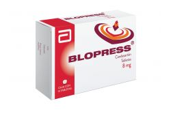 FRM-Blopress 8 mg Caja Con 14 Tabletas