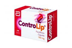 ControLip 160 mg Caja Con 15 Cápsulas
