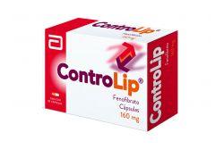 FRM-Controlip 160 mg Caja Con 30 Cápsulas