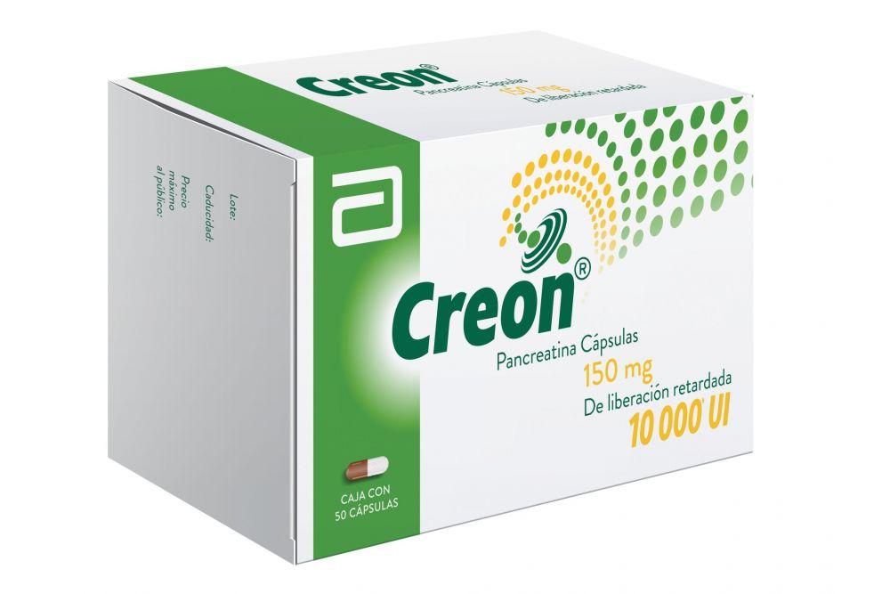 Creon 150 mg/10000UI Caja Con 50 Cápsulas