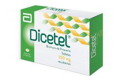FRM-Dicetel 100 mg Caja Con 14 Tabletas Recubiertas
