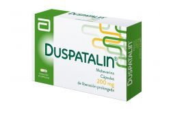 FRM-Duspatalin 200mg Caja Con 14 Cápsulas