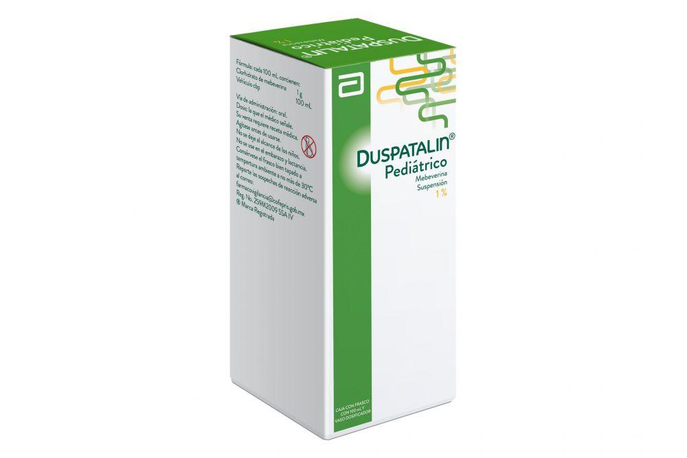FRM-Duspatalin Pediátrico Suspensión 1 % Caja Con Frasco Con 100 mL
