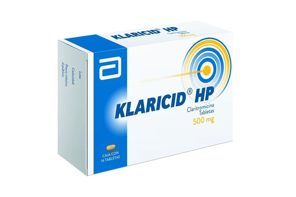 FRM-Klaricid HP 500mg Caja Con 14 Tabletas -RX2
