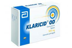 FRM-Klaricid OD 500 mg Caja Con 14 Tabletas -RX2
