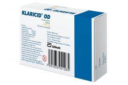 FRM-Klaricid OD 500 mg Caja Con 10 Tabletas - RX2