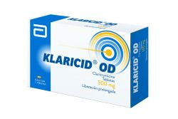 FRM-Klaricid OD 500 mg Caja Con 7 Tabletas -RX2