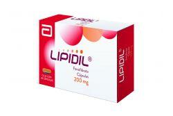 FRM-Lipidil 200 mg Caja Con 28 Cápsulas