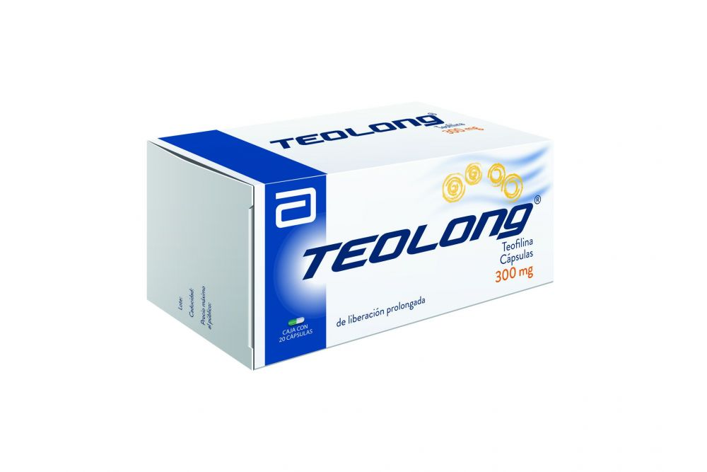 Teolong 300 mg Caja Con 20 Cápsulas
