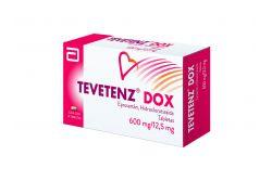 FRM-Tevetenz Dox 600 / 12.5 mg Caja Con 14 Tabletas