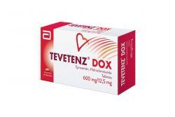 FRM-Tevetenz Dox 600mg/12.5mg Caja Con 28 Tabletas