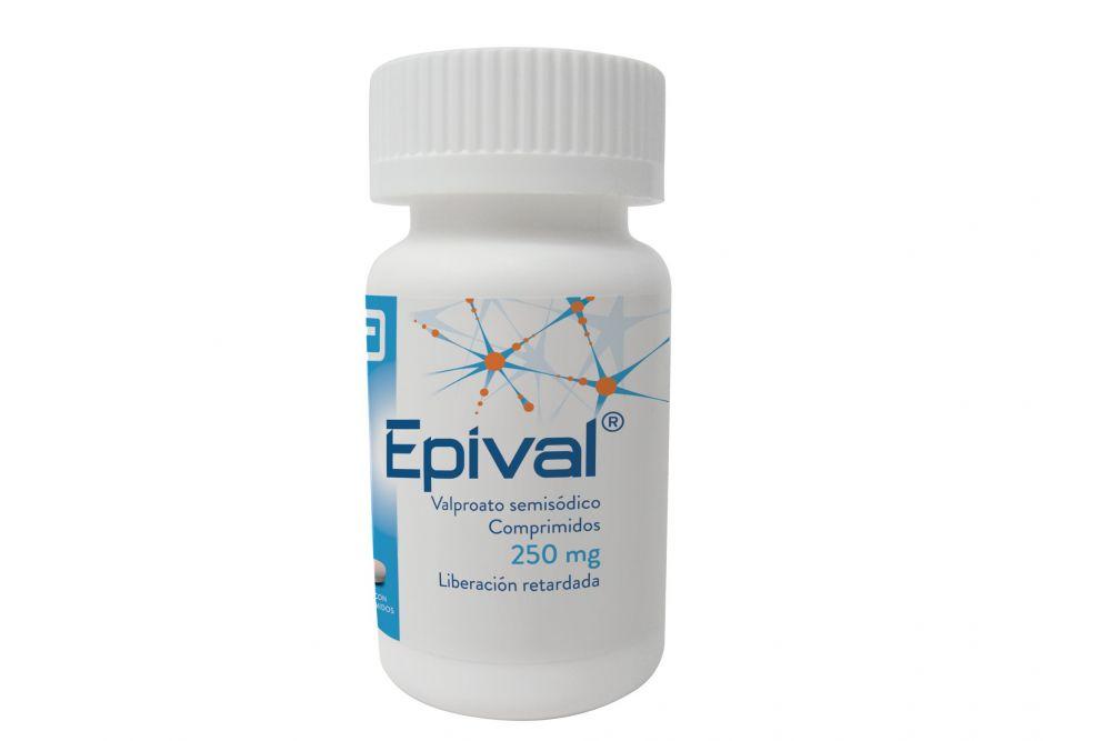 FRM-Epival 250 Mg Frasco Con 30 Comprimidos