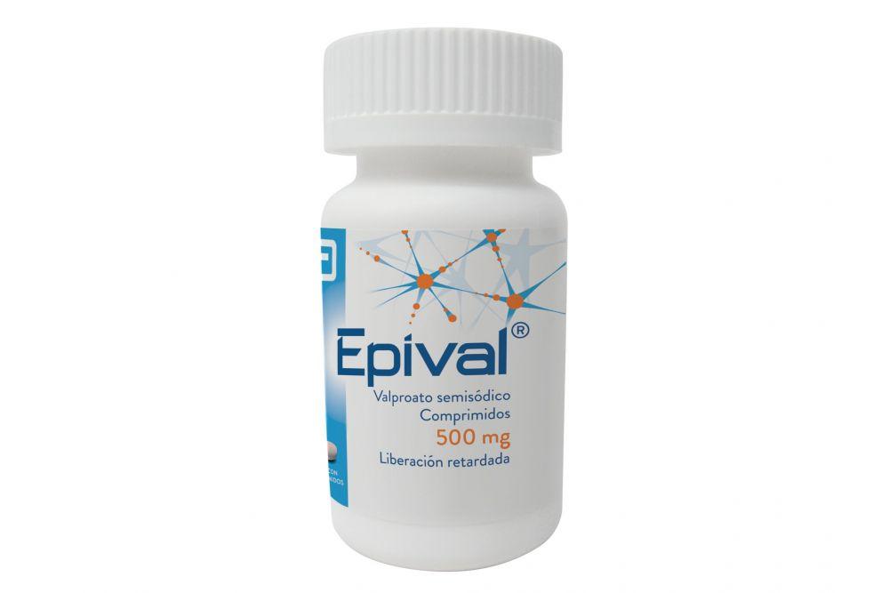 FRM-Epival 500 mg 1 Frasco Con 30 Comprimidos