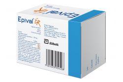 FRM-Epival ER 500 mg Caja Con 60 Tabletas