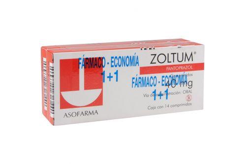 Zoltum 20 mg Caja Con 14 Comprimidos 2x1