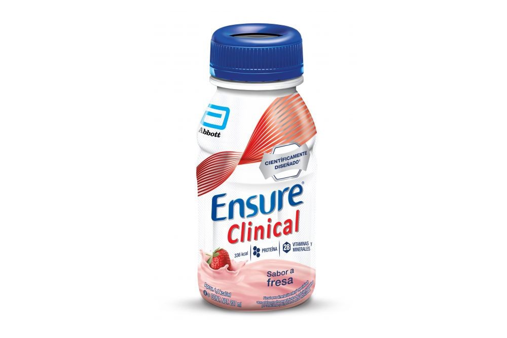 FRM-Ensure Clinical Envase Con 237 mL Sabor Fresa
