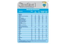 FRM-Similac 1 Lata Con Polvo Con 850 g