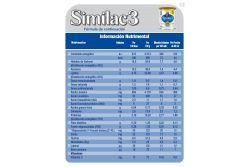 Similac 3 Lata Con 400  g