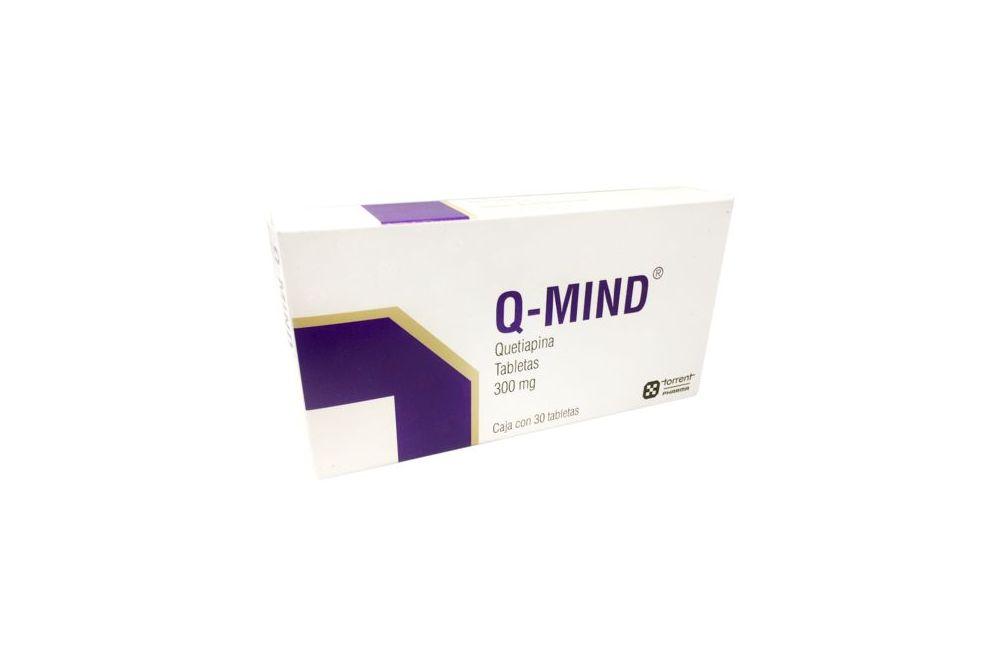 Q Mind 300 mg Caja Con 30 Tabletas
