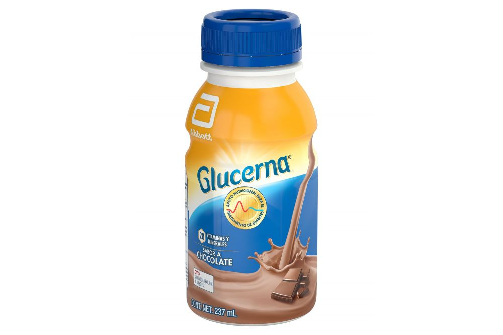 FRM-Glucerna Alimentación Especializada Sabor Chocolate 237 mL