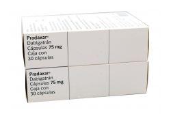 Pradaxar 75 mg Caja Con 30 Cápsulas
