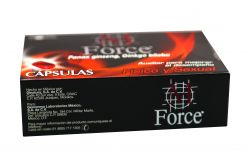 M Force Caja Con 1 Envase con 30 Cápsulas