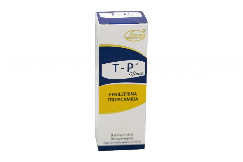 TP Ofteno Caja Con Frasco Gotero Con 15 mL