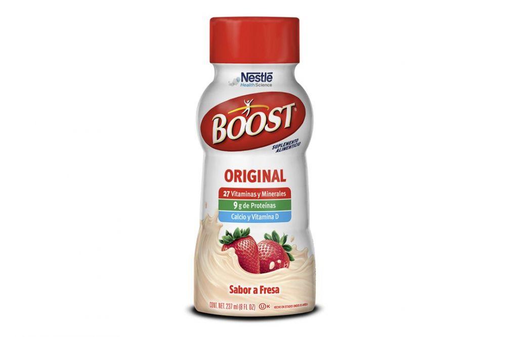 Boost Original Sabor Fresa Botella Con 237 mL