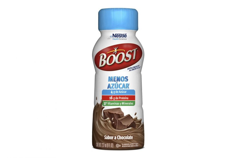 Boost Menos Azúcar Sabor Chocolate Botella Con 237 mL