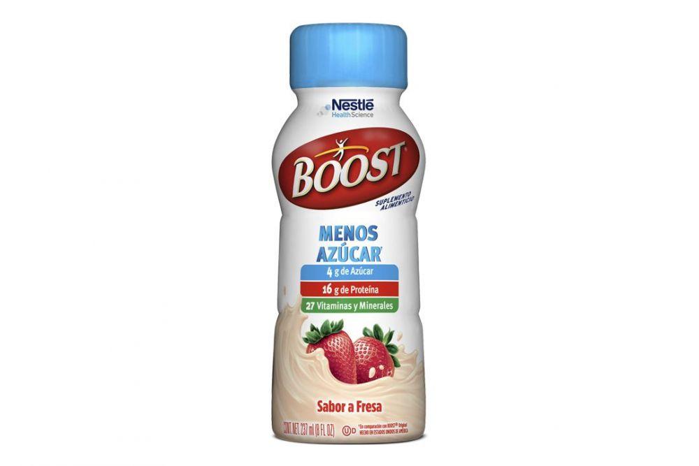 Boost Menos Azúcar Sabor Fresa Botella Con 237 mL