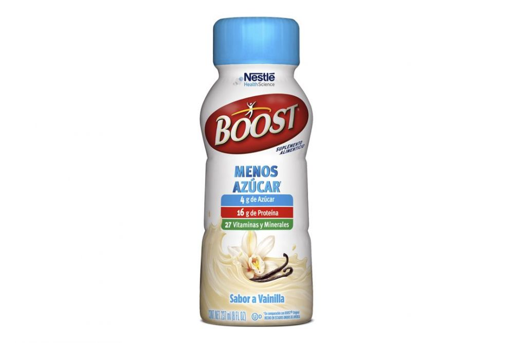 Boost Menos Azúcar Sabor Vainilla Botella Con 237 mL