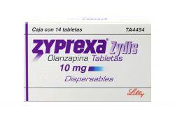 Zyprexa Zydis 10 mg Caja Con 14 Tabletas Dispersables