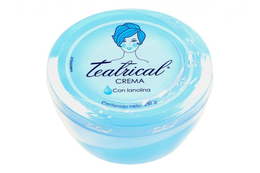 Crema Teatrical Sólida Con Lanolina 230 g