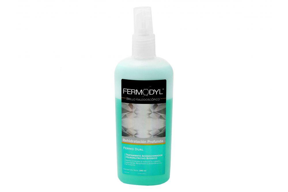 Fermodyl Brillo Caleidoscópico Rehidratación Profunda Botella Con 240 mL
