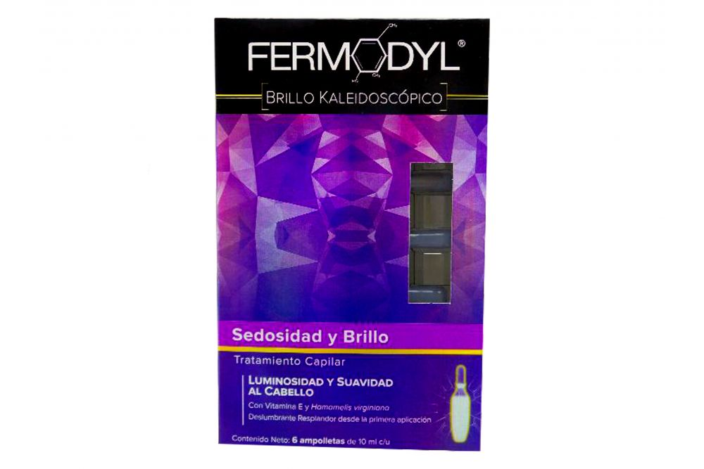 Fermodyl Tratamiento Capilar Con 6 Ampolletas De 10 mL